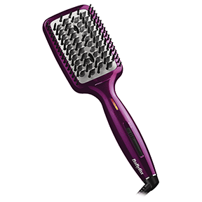 Hot Straightening Brush Fuchsia